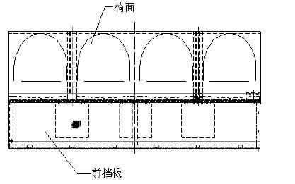 六,成果展示 项目组引入三维设计,使用inventor设计座椅总成结构(图2